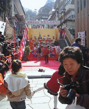 石段ひな祭り