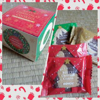 ロイズクリスマスクッキー